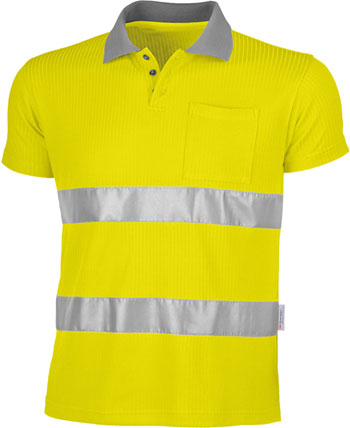 Qualitex Warnschutz- Poloshirt-16203