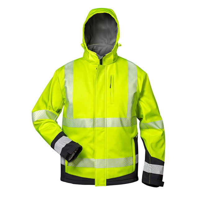 ElyseeWarnschutz-Winter Softshell Jacke mit Kapuze-23426-23436