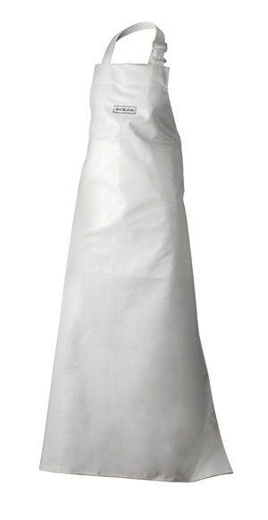 PVC- Schürze Weiß-27840