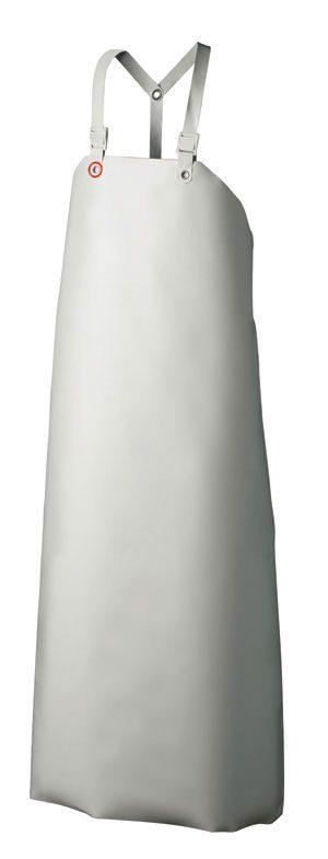 Nitril- Schutzschürze Weiß-2858