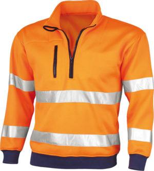 Qualitex Warnschutz- Sweatshirt-61930.BB