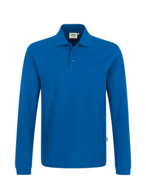 HAKRO Longslevve-Pocket Polo Top-809