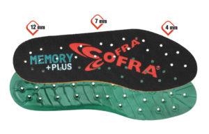 COFRA Memory Plus Einlegesohlen-Memoryplus